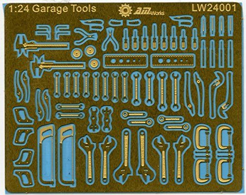 Alliance Model Works 1:24 Scale Mechanic Tools Connection...