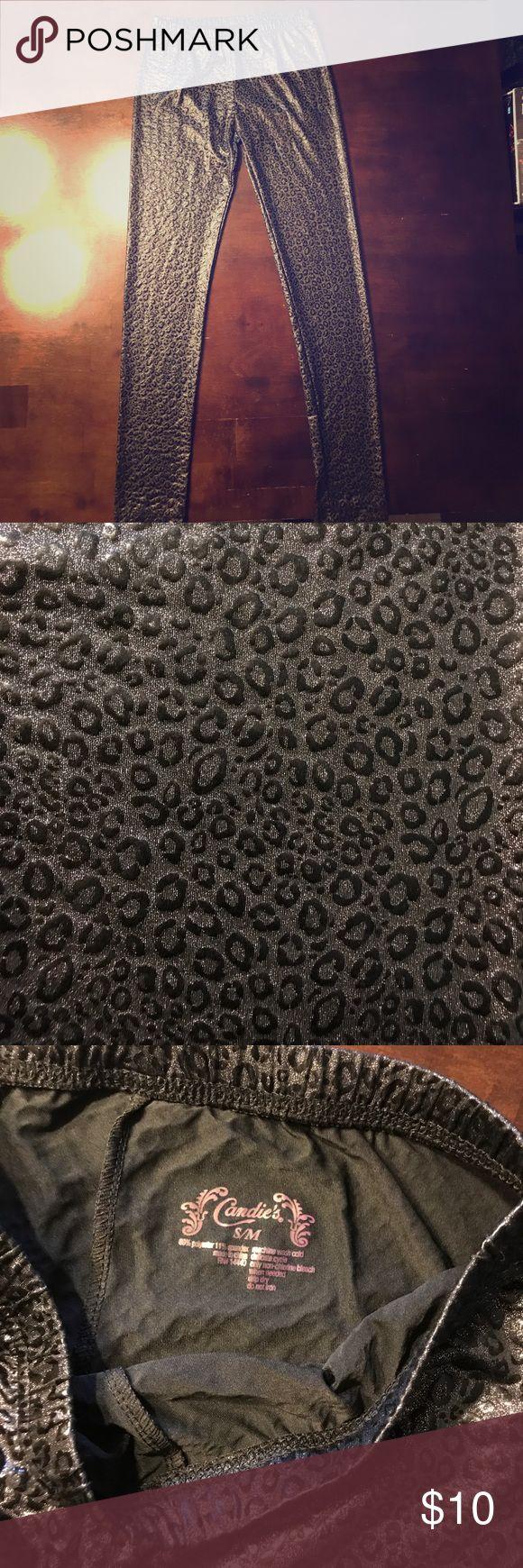 Candie's cheetah print leggings Cheetah print Candie's Pants Leggings