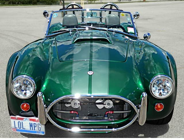 Hunter 427SC Cobra, Electric Green, For Sale