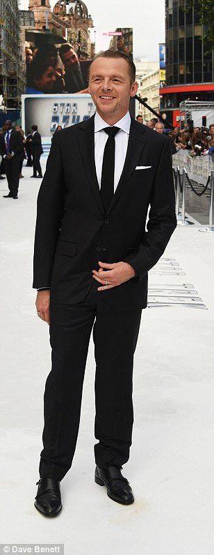 Simon Pegg à l'avant-première de Star Trek Beyond