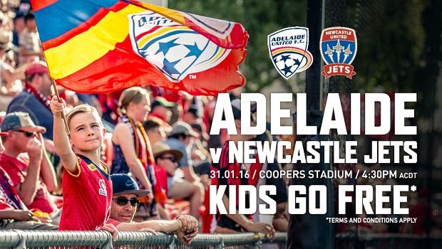 Adelaide United FC Free entry for kids
