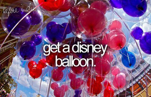 get a disney balloon