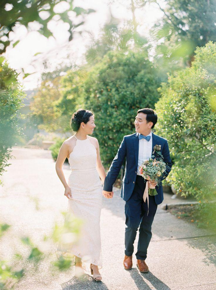 A Simple Garden Wedding at Westmont College in Santa Barbara, California