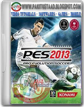 PES 2013 PC Game Cover