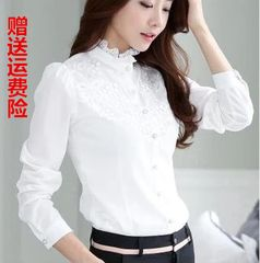 Женская рубашка белая, рубашка офисная  Women's white shirt, office shirt   340 руб