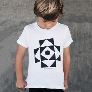Geometric kid clothes from Munkstown