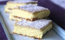 This creamy custard or vanilla slice recipe is so easy, even the kids will be able to make it but they may need a little help with the oven.