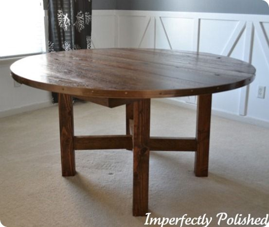 25 best ideas about rustic round dining table on pinterest round dining tables round dining. Black Bedroom Furniture Sets. Home Design Ideas