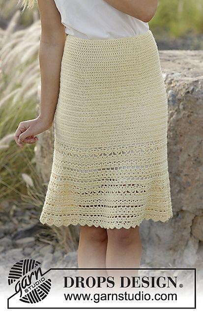 Ravelry: 170-31 Daniella Skirt pattern by DROPS design