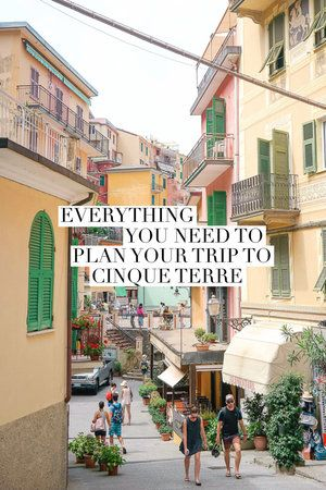 How to get to Cinque Terre, around Cinque Terre, plus what to do, eat, and see! Including detailed information on the famous hiking trails