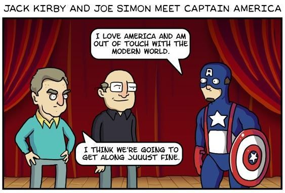 Dorkly Comic: If Comic Creators Could See Their Characters Now