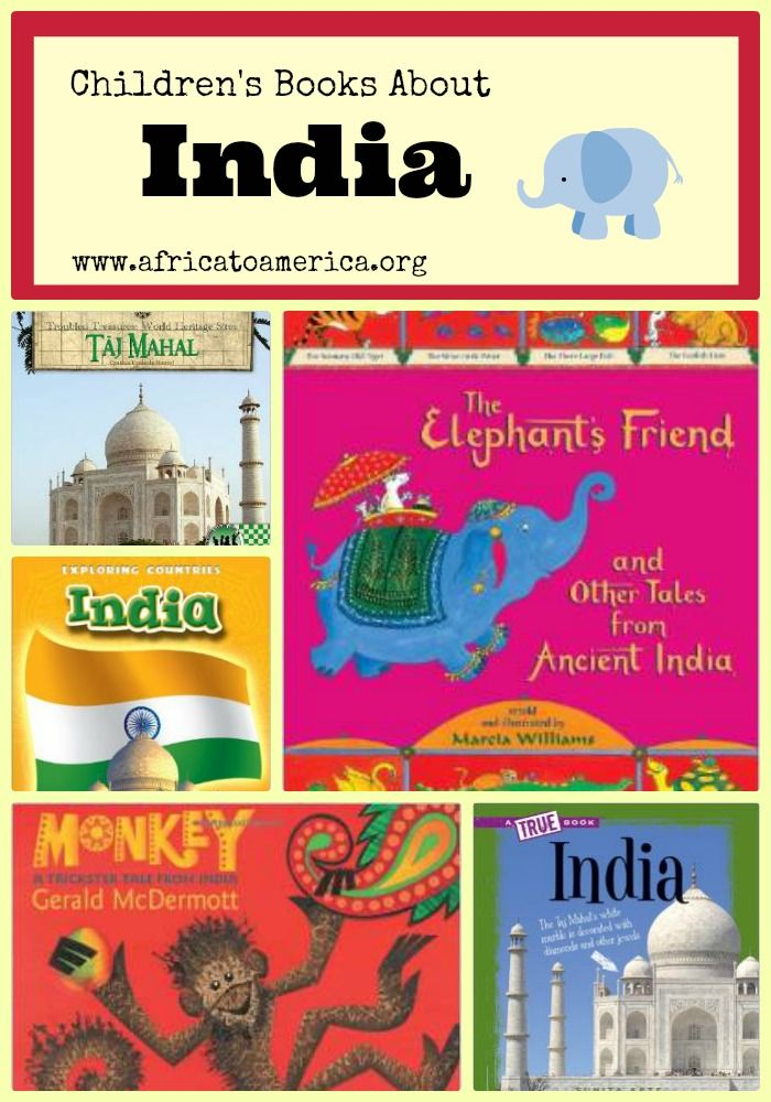 Seven outstanding children's books about India.