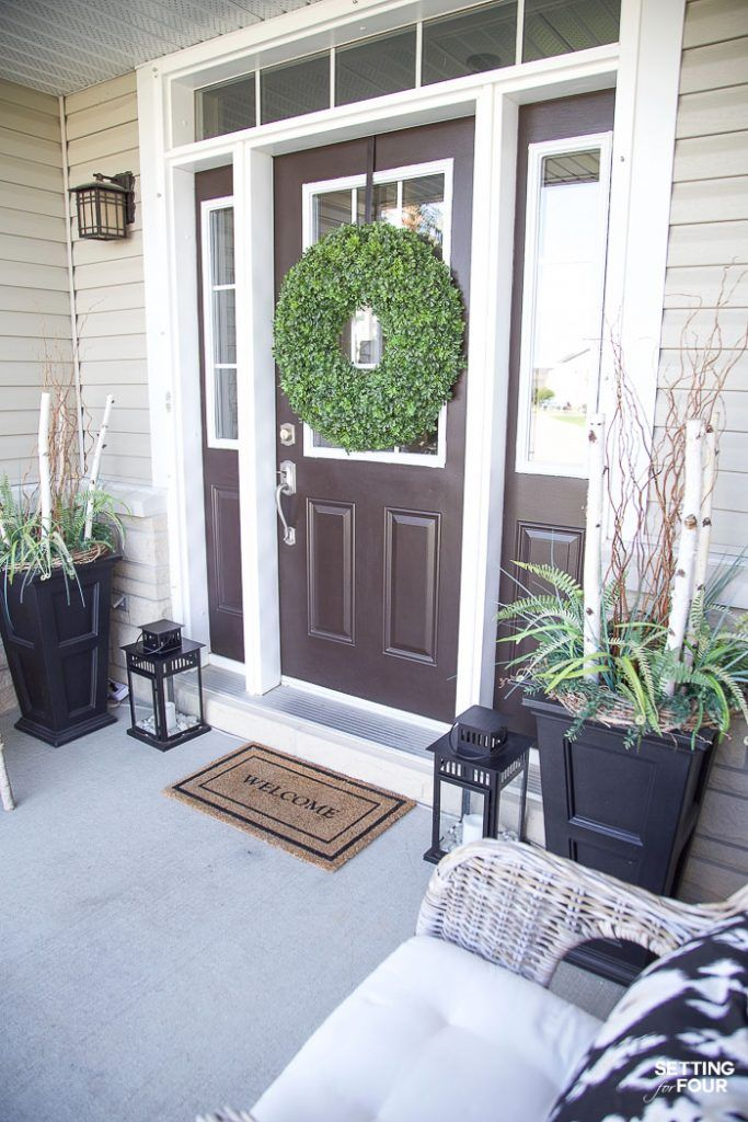 Summer Front Porch Decor Ideas With