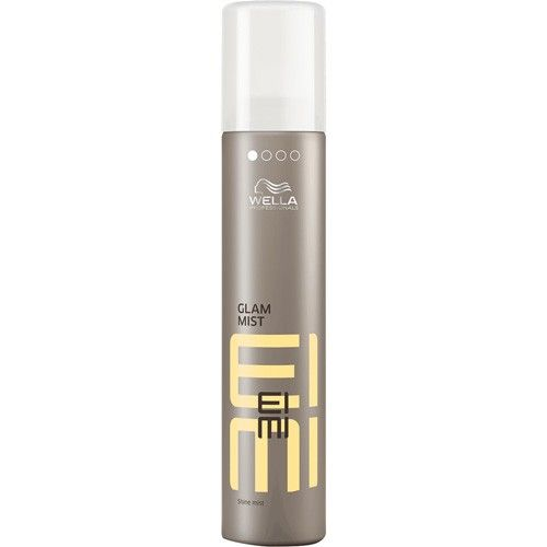 Wella EIMI Glam Mist delivers a sparkling shine and beautiful style.
