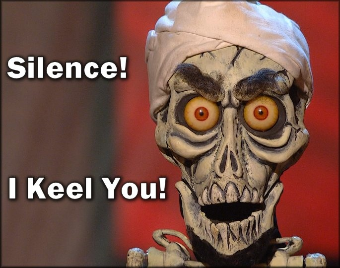 Love Achmed, and Jeff Dunham!