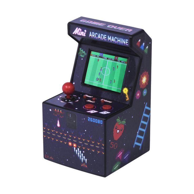 Mini-Arcade-Automat mit 240 16-Bit-Spielen | Geschenkidee.de