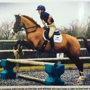 "It's great to see our junior rider @theo_funnell_  in the ""ask the trainer"" section of the horse and hound!"