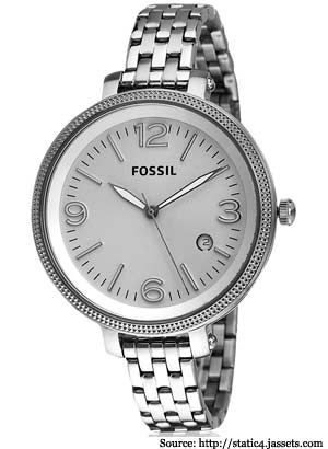 Fossil Watches for Her Delicate Wrist | Stainless Steel, Belt Watches