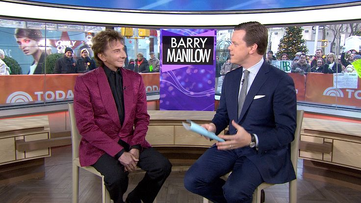 Barry Manilow stopped by this morning's TODAY to talk about his new album ' Dream Duets' in which modern technology enabled him to team up with legendary singers Whitney Houston and Marilyn Monroe. Description from facebook.com. I searched for this on bing.com/images