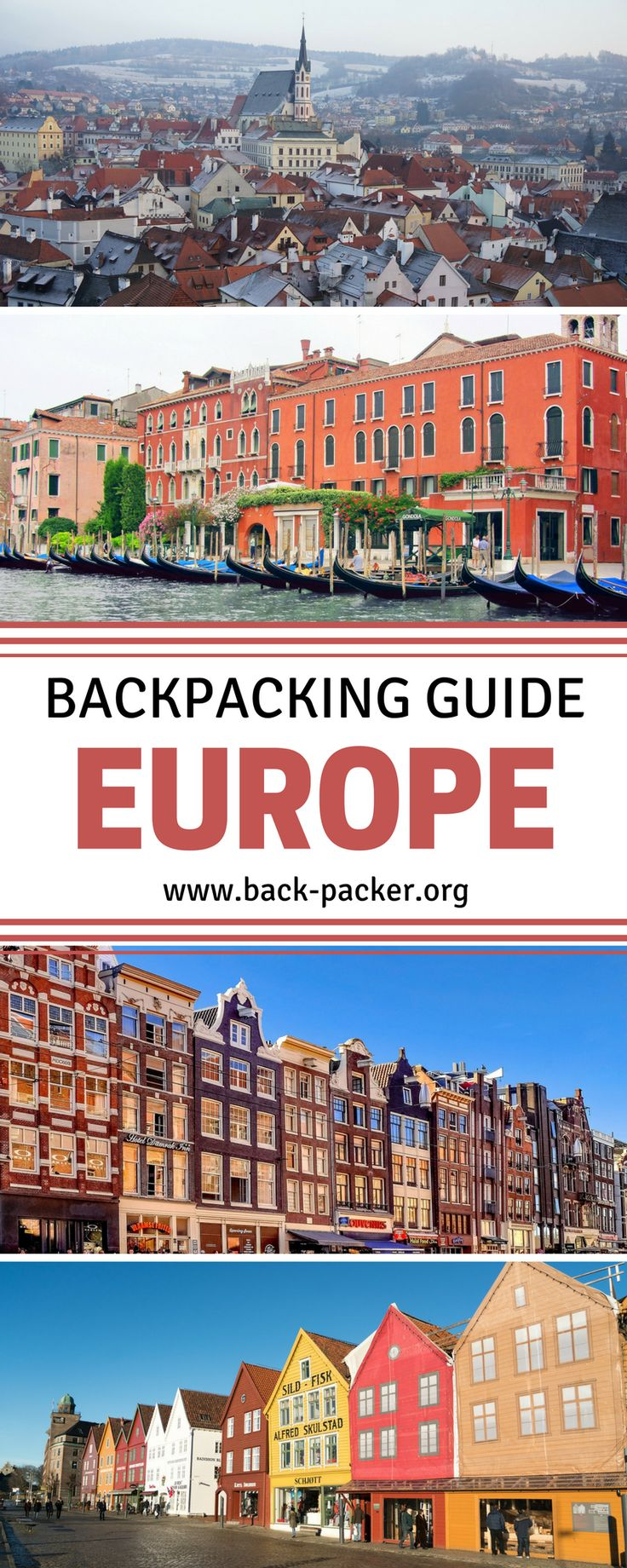 The complete guide to backpacking Europe on a budget. Tips for luggage, packing, transportation and accommodation + budget guides to cities in England, Spain, Italy, Germany, Austria, Norway, Portugal, Scotland and more. Budget travel in Europe. | Back-pa