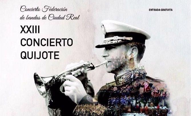 """Celebrado el """"Concierto Federación de Bandas XXIII Concierto Quijote"""" - PeriNews"""