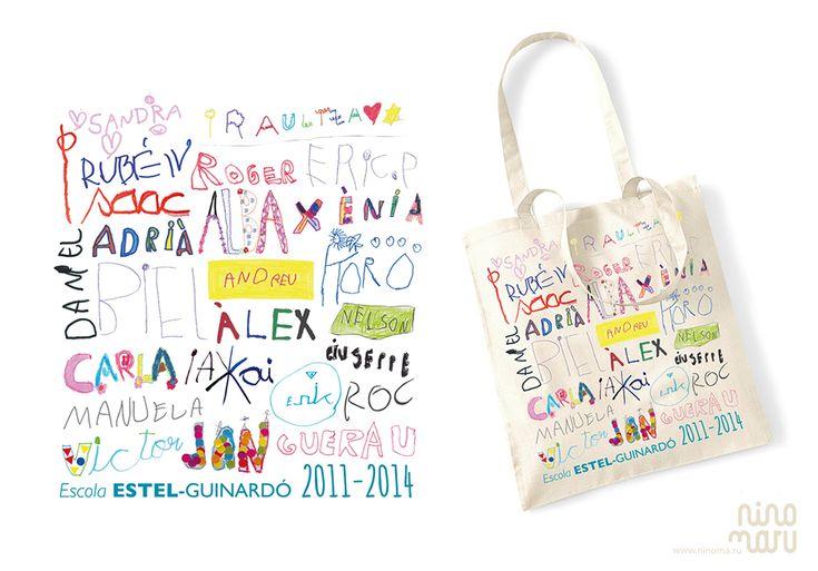 bolsa personalizada para profesor/a