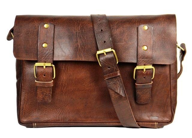 Aktentasche Schultasche Lehrertasche Umhängetasche Leder-Tasche Vintage 02 NEU! in Kleidung & Accessoires, Herren-Accessoires, Taschen   eBay