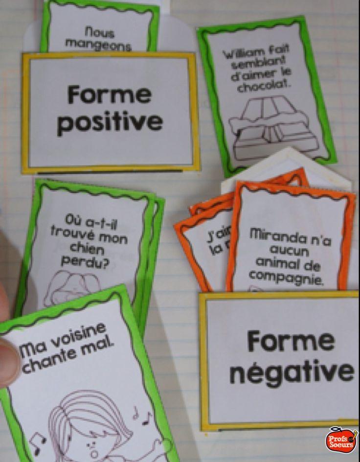 Formes positive et négative // Profs et Soeurs