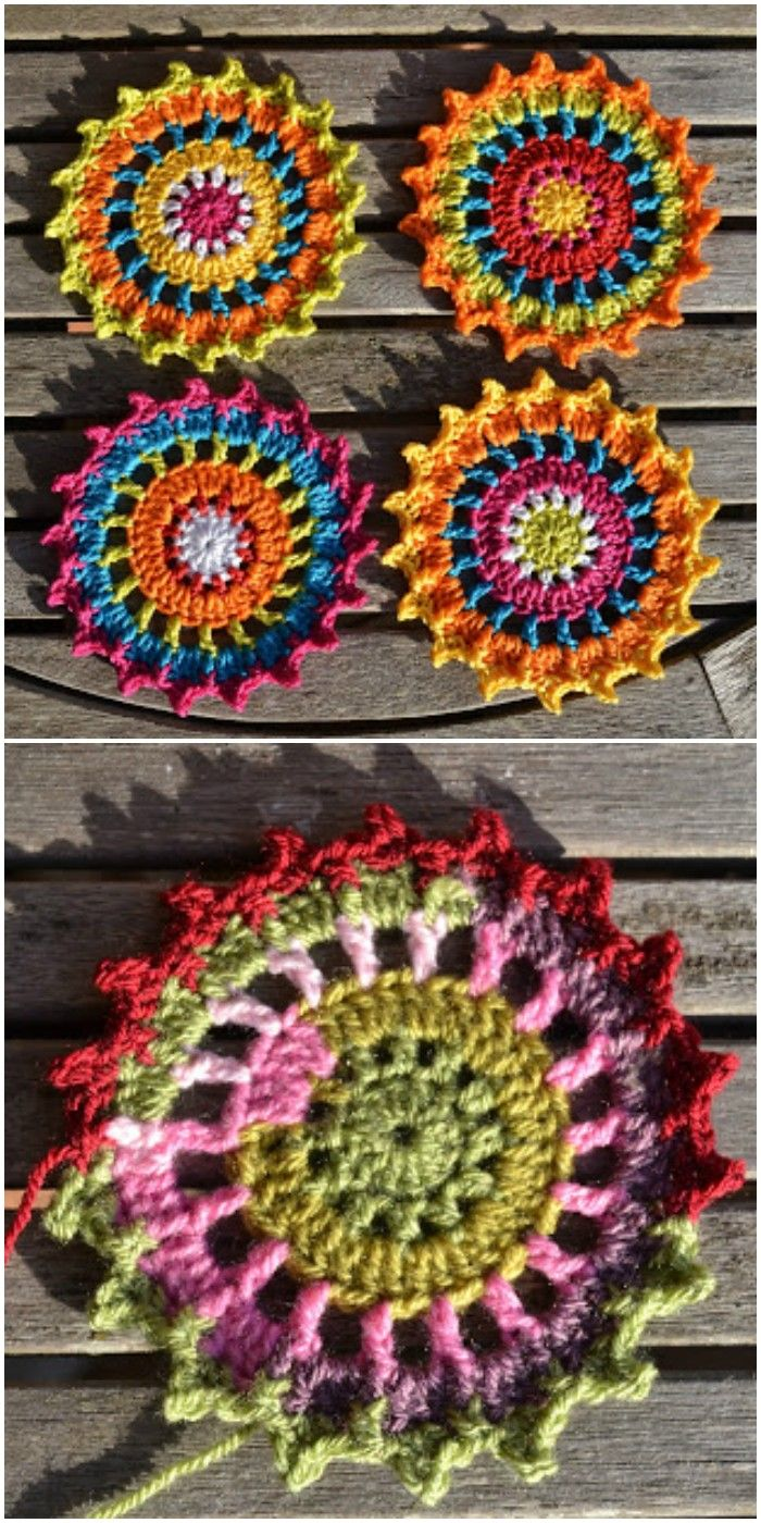 Free Crochet Coaster Patterns For Your Home Crocheting Creative
