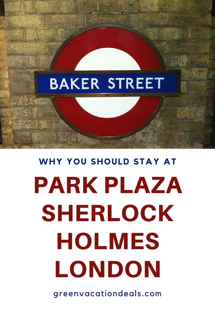 England Travel | Looking for a London hotel? Stay at Park Plaza Sherlock Holmes London on Baker Street and enjoy a spa, bookshop, murder mystery events and more! | London Travel | London Hotels