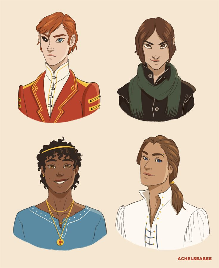 A darker shade of magic // a gathering of shadows // Kell, Lila, Rhy and Alucard // THESE DRAWINGS ARE AMAZING AND PERFECT