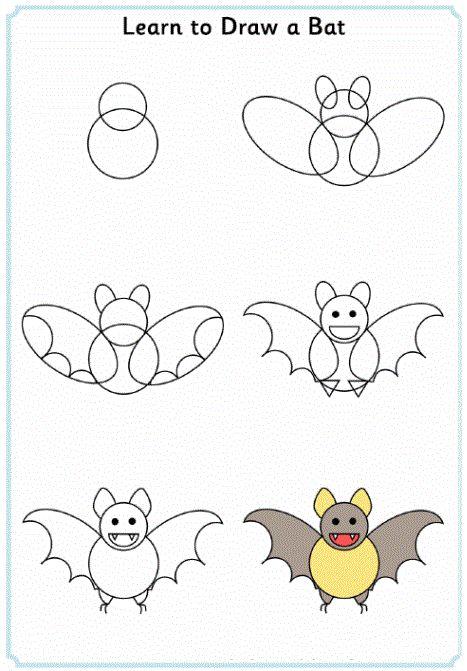 10 best images about art stellaluna on pinterest how - Animal a dessiner ...