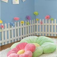 Cute picket fence for the girls