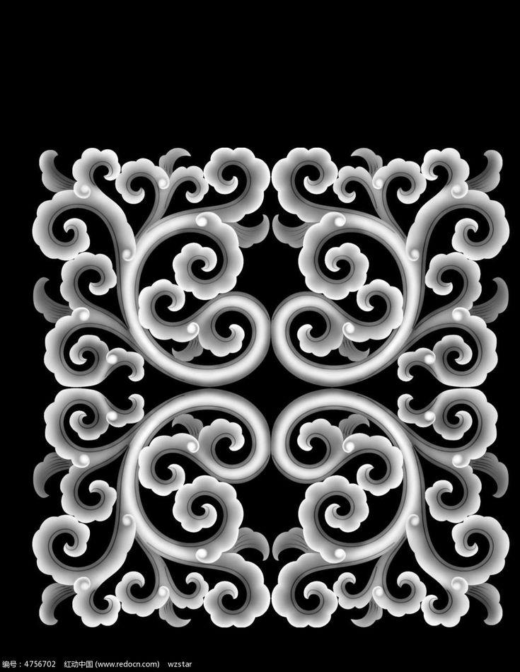 gudianhuawenhuaduoheibaidiaohuatu_4756702.jpg (1000×1292)