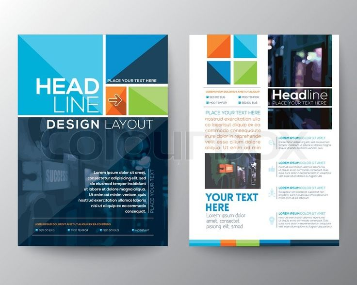 Best Conference Promos Images On   Brochure Design