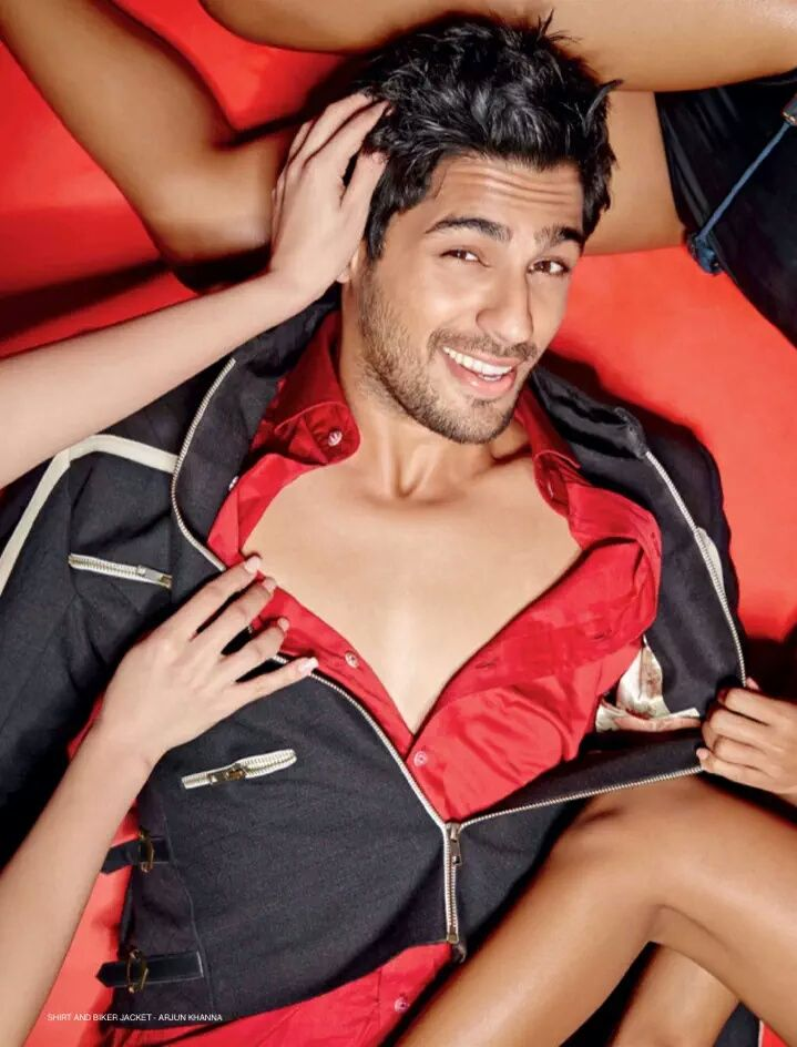 Sidharth Malhotra Pictures for Stardust Magazine August 2015 Edition
