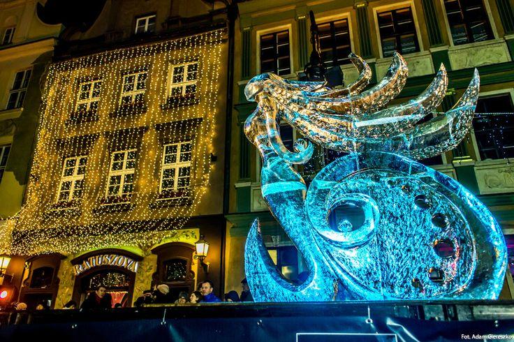 #poznan #icefest [fot. A. Ciereszko]