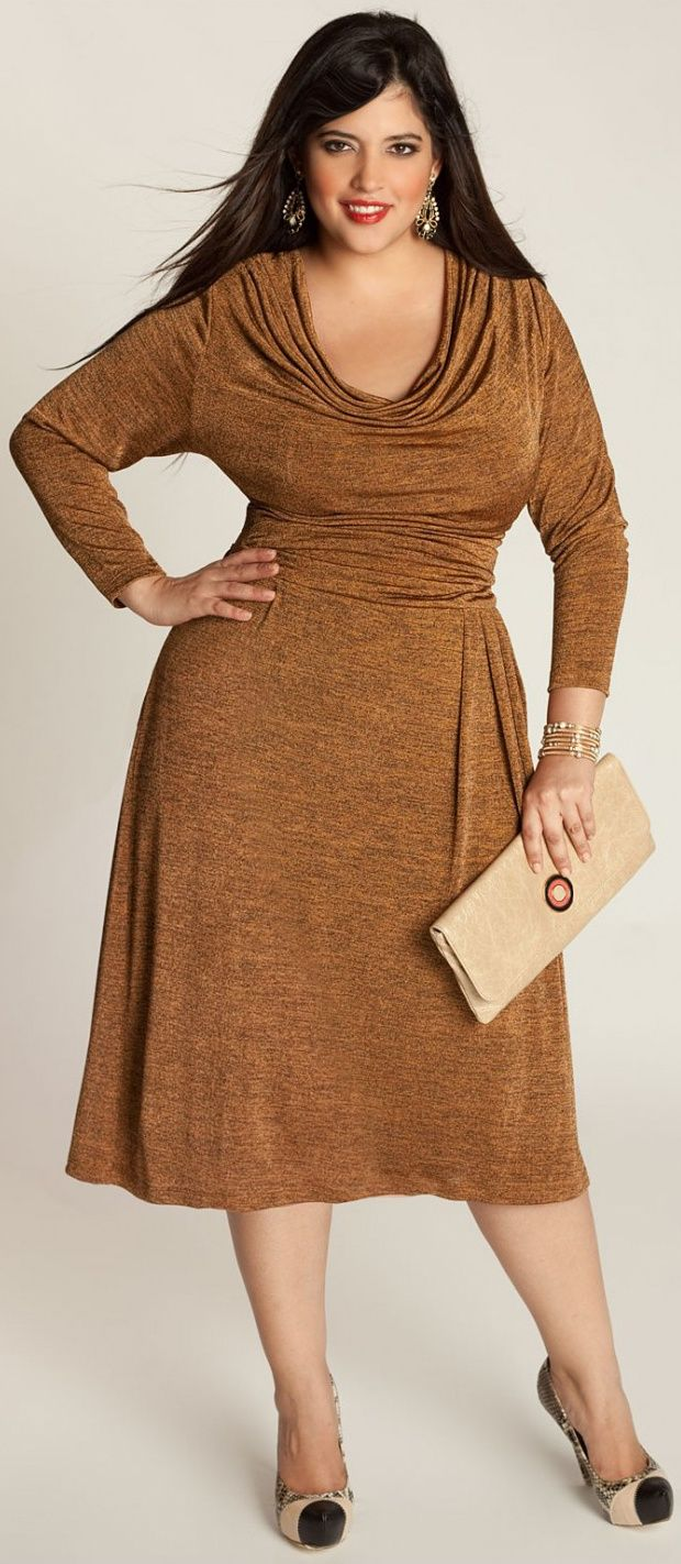 Maxina Cocktail Dress Big beautiful real women with curves fashion accept your body plus size body conscientiosness s