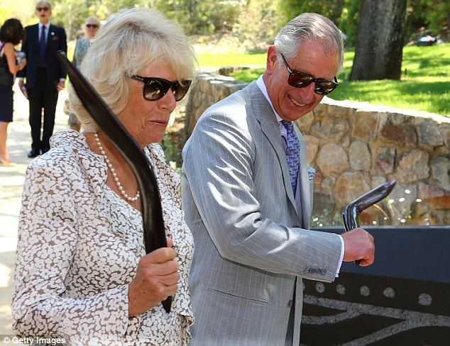 Prince Charles (right) and Camilla will attend the Commonwealth Games in Gold Coast ...