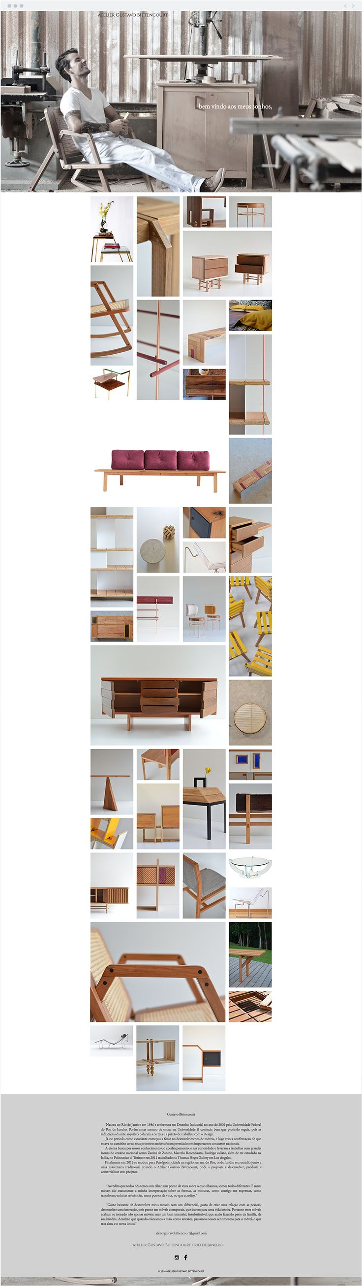 Gustavo Bittencourt | Wood Furniture Designer