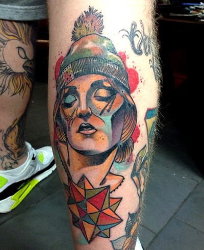 Tattoo done byMichael Gibson. @gibb0o