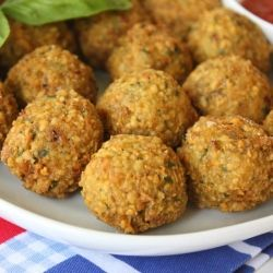 Falafel-It is hearty enough to replace hamburger patties and meatballs in vegetarian dishes