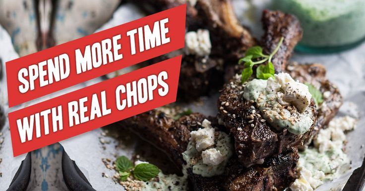 Spend Time with Real Chops! 2015 is your year - This is more like it! Eat more delicious food everyday! All you need to know and all the support you will ever need: http://realmealrevolution.com/online-course . Re-pin and share with friends and family! #LCHF #Banting