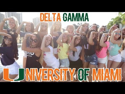 Total Sorority Move | These Delta Gammas At The University Of Miami Will Assure You Going Greek Is The Right Thing To Do