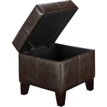 Small Storage Ottoman, Multiple Colors - Walmart.com