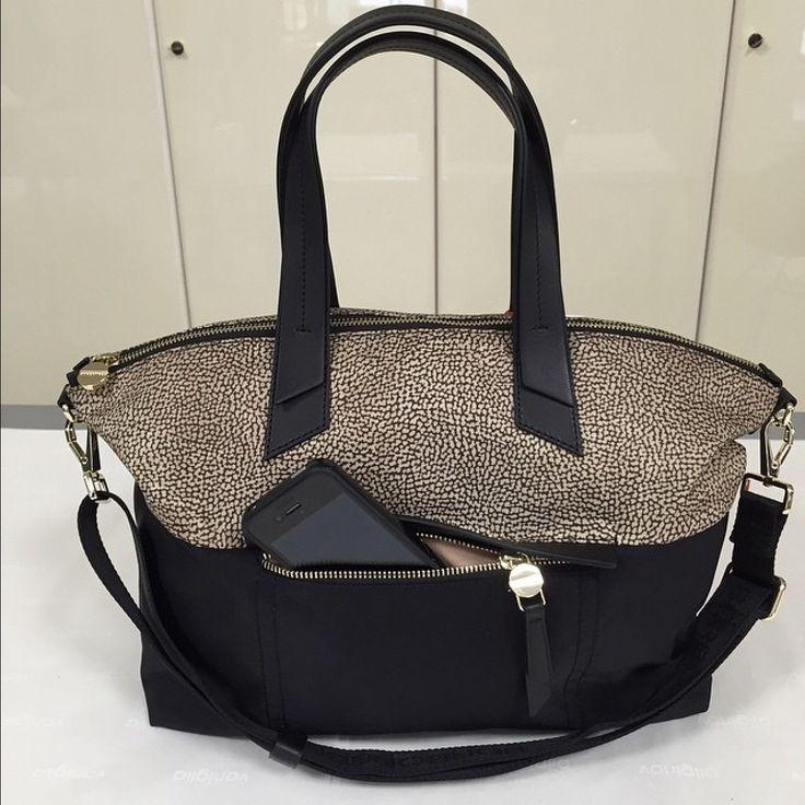 Shopping bag Borbonese