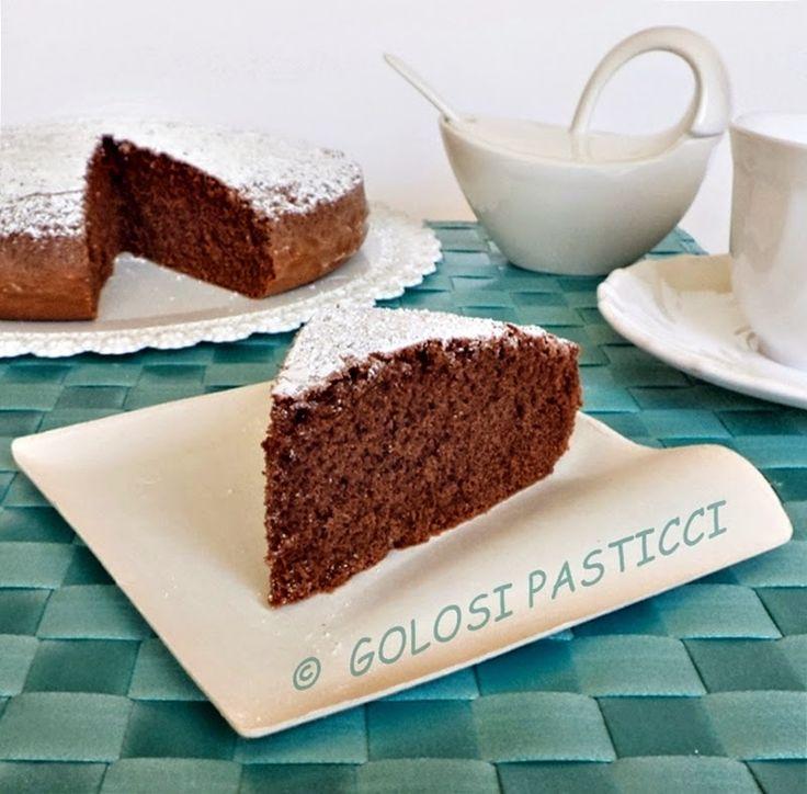 Torta+al+latte+caldo+al+cioccolato
