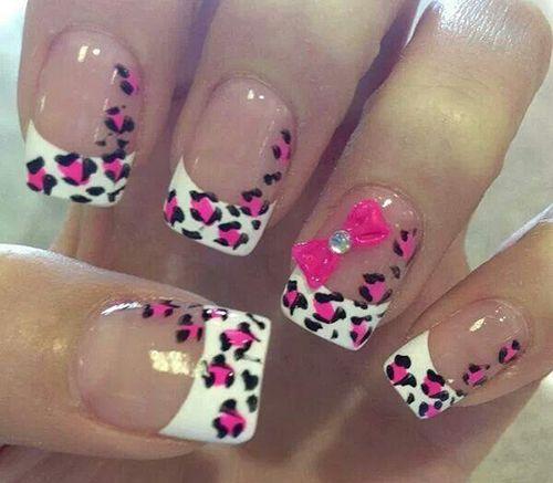 so cute,love this nail design idea!