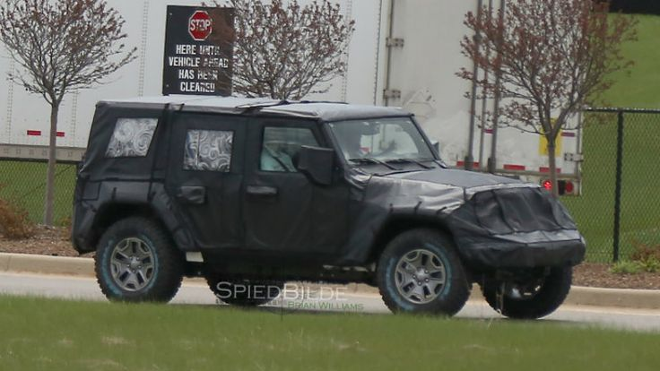 Camouflaged 2018 Jeep Wrangler Spied - Wrangler JL Forum
