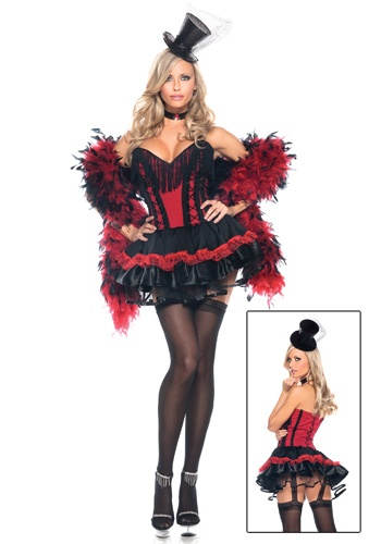 Speak Easy Saloon Girl Costume @Adrian Dillioano